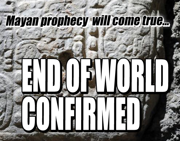 End of the world? Oh wait...