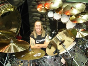 Nicko and tons of drums!
